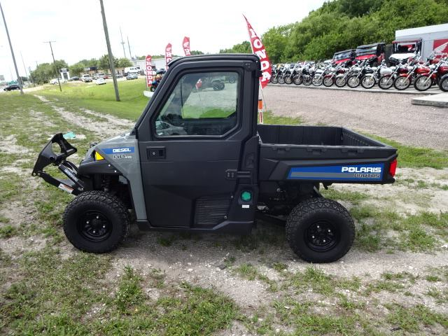 Image: Left-side View of a Polaris UTV